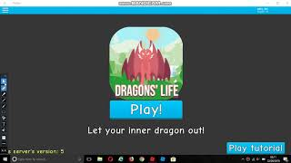 Invisible cursor glitch - ROBLOX Dragons' Life [ALPHA]