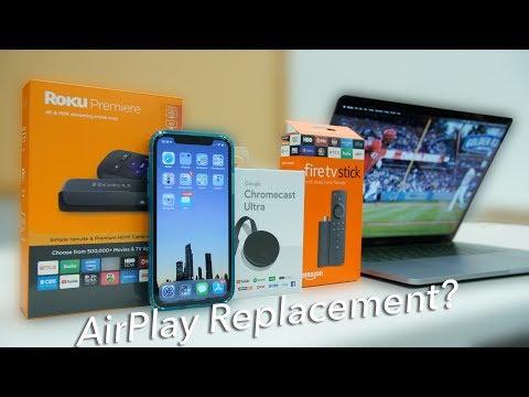 How to screencast iOS or macOS device to Roku, FireTV, or Chromecast!