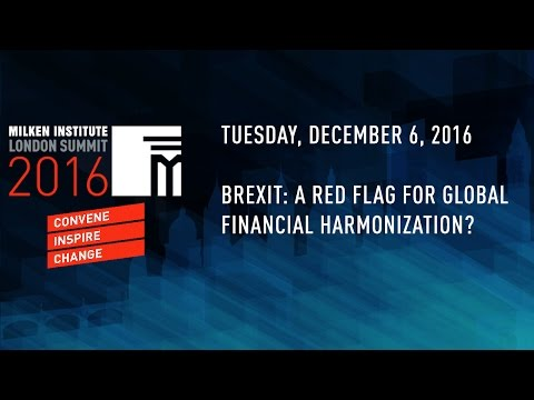 Brexit: A Red Flag for Global Financial Harmonization?