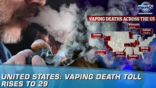 United States: Vaping Death Toll Rises To 29 | Indus News