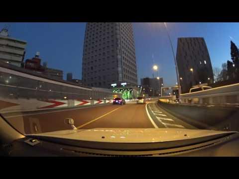 Tokyo night drive 4K 東京 首都高 2017