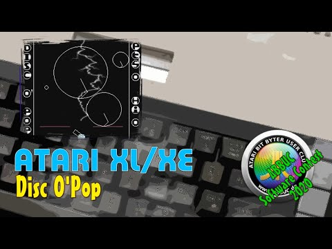 Atari XL/XE -=Disc O' Pop=- ABBUC Software Contest 2020