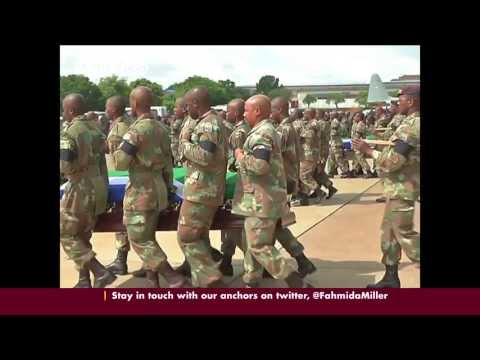 South African troops join UN mission in DRC