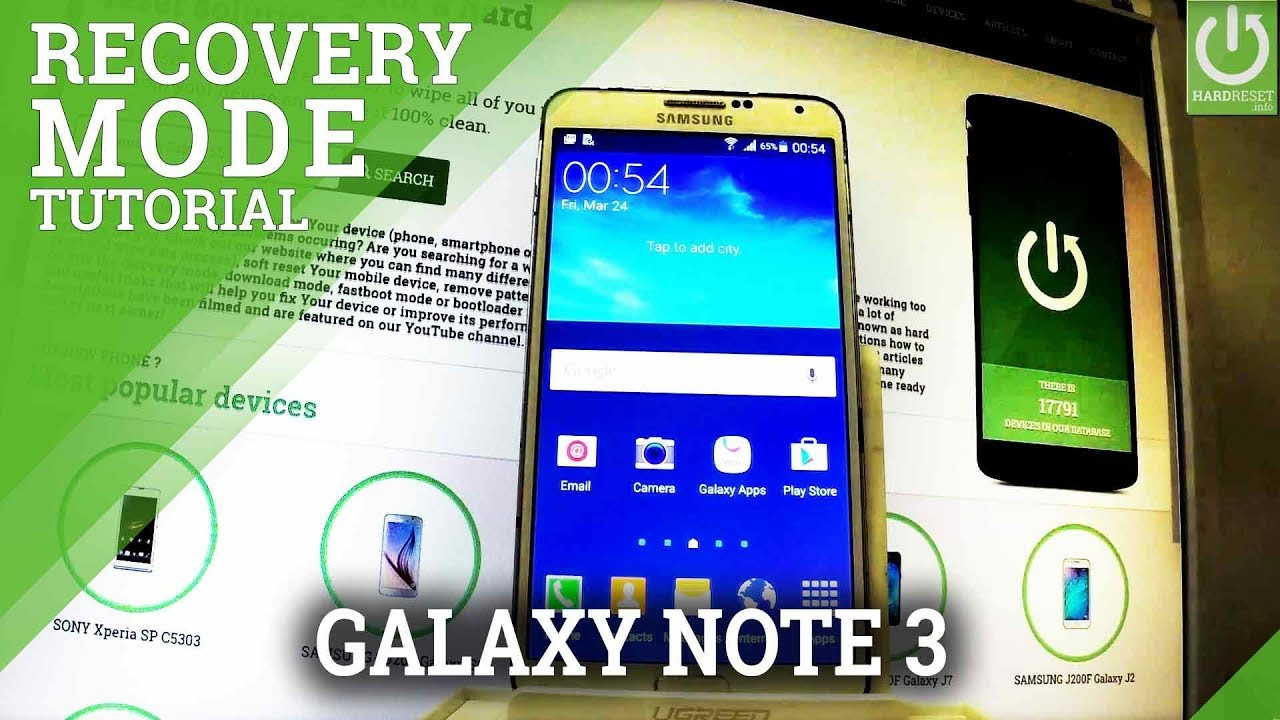 samsung note 3 manual reset