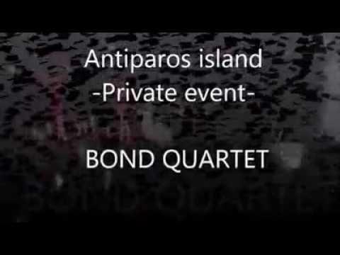BOND quartet in Greece in August 2016 🎻🎶🇬🇷