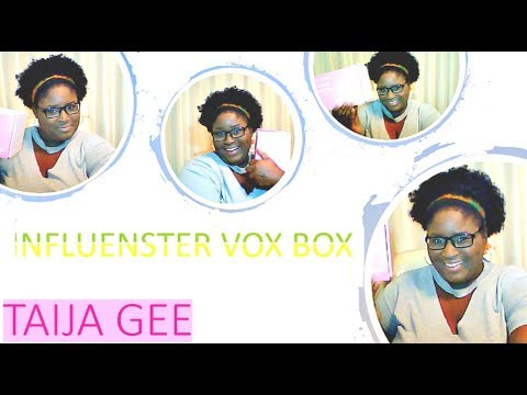 Influenster feast voxbox unboxing   free samples youtube.