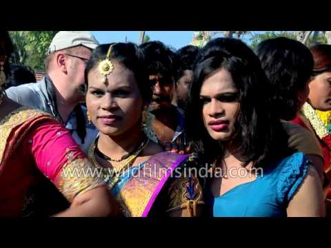 Festival of transgenders and transvestites in India: Koovagam