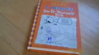 diary of a wimpy kid do it your self book review