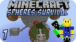 Minecraft SPHERES SURVIVAL #1