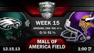 Philadelphia Eagles vs Minnesota Vikings NFL Week 15 Preview | 2013 NFL Picks w Scott Kellen, Loshak