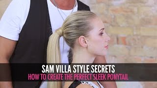How To Create The Perfect Sleek Ponytail
