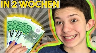 Wie man 500€ in zwei Wochen Verdient unter 18 online | **schnell online Geld verdienen** [echt] Vlog