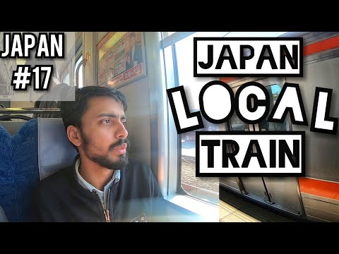 My Experience of LOCAL TRAIN in JAPAN : Hamamatsu to Kyoto : Sunrise from Japan