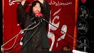 allama syed zulfiqar haider naqvi on 25 rajab at (gharera)part 4/4 (2011) jalsa ch qamar zaman