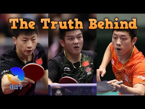 Save The Truth Behind The Forfeit of Ma Long, Fan Zhendong and Xu Xin in China Open 2017 Pictures