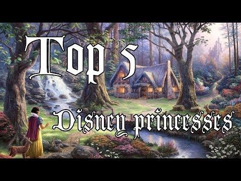 Топ 5 Диснеевских Принцесс