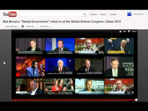 GGN: Climate Tsar Calls for Global CO2 Tax, Global Government or Governance?, Earth for Sale