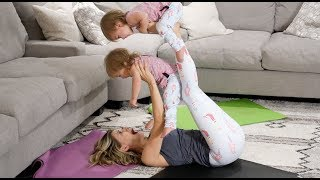 MOMMY VS BABIES YOGA SESSION *CUTENESS OVERLOAD*