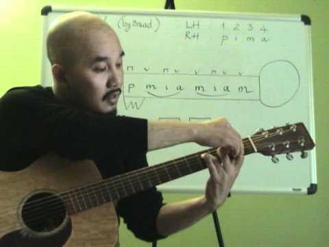 Học đệm guitar bài If_phần 1.