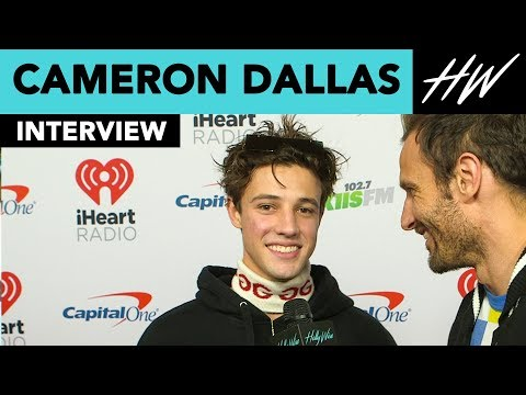 Cameron Dallas Reveals Who Inspired 'WHIMY' & His Secret BFF!! | Hollywire