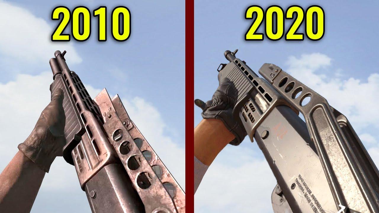 COD Black Ops 2010 vs Black Ops 2020 - Weapons Comparison