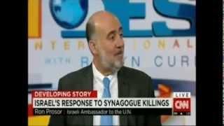 Amb. Prosor on CNN International - Jerusalem Terror Attack