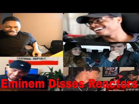 Reactors Reacting to Eminem Chloraseptic remix