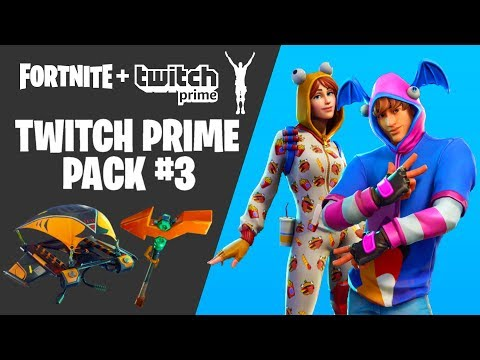 HOW TO GET TWITCH PRIME SKINS FOR FREE IN FORTNITE! [Twitch Prime Pack 3] *NEW*