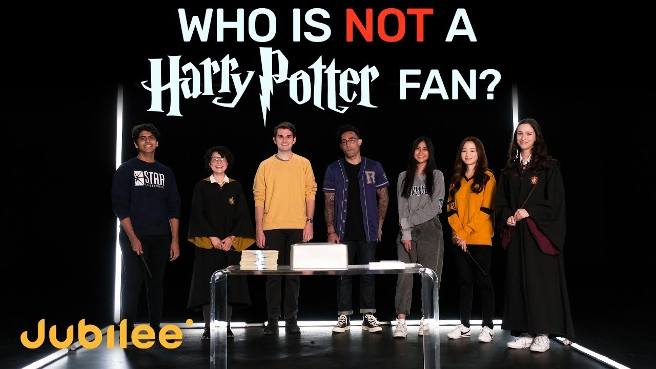 Download 6 Harry Potter Fans vs 1 Fake | Odd One Out