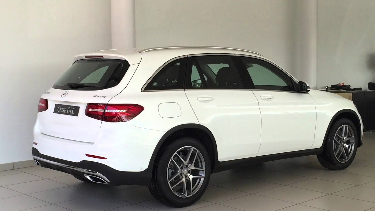 mercedes benz clase glc 220 d amg 4 matic autom tico youtube. Black Bedroom Furniture Sets. Home Design Ideas