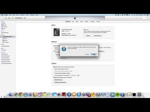 How To Update To Ios Using Itunes