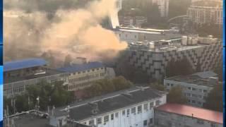 В центре Сочи горела трансформаторная подстанция(, 2015-08-04T11:29:00.000Z)