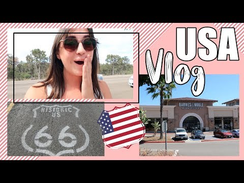 FINALLY GOING TO BARNES & NOBLE AND BEING SHOCKED | USA Vlog #3