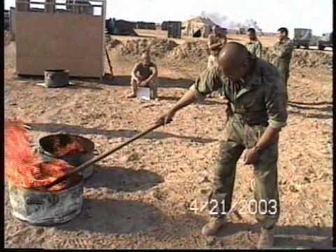 Daily shit burning in Iraq somewhere...Bushmaster perhaps?