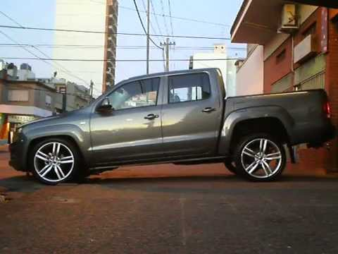 "Vw Amarok Modified >> VW Amarok Suspension Neumatica BZstyle con 22"" - YouTube"