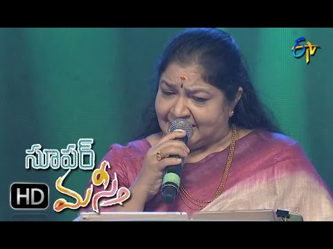 Kallaloki Kallu Petti Song | Chithra Performance | Super Masti|Vijayawada | 26th March 2017