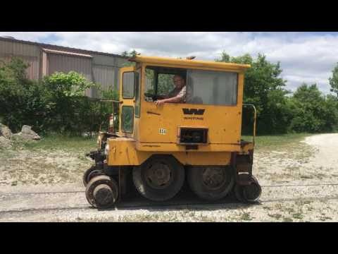 9 TM Trackmobile on rail