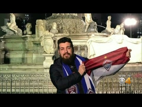 BEARDO - Rapids Fans are trying to get a super fan from Italy to a game