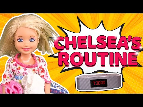 Barbie - Chelsea's Morning Routine | Ep.117