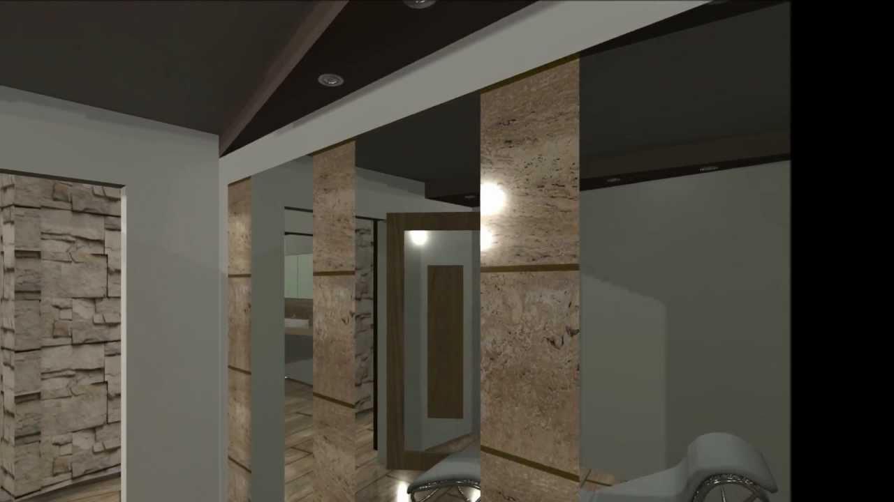 Interior design of skin care clinic - YouTube