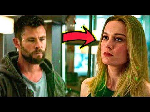 Avengers EndGame ¿Donde estaba Capitana Marvel?