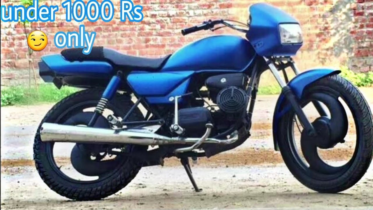Splendor Modified Alloy Wheel, How To Modified Your Bike Splendor Under 1000 Rs Modifications Under 1000rs, Splendor Modified Alloy Wheel