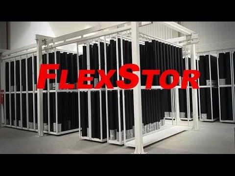 Flexstor Flexo Sleeve Storage System Youtube