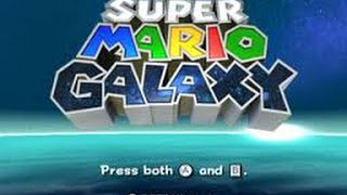 Nintendo Wii Longplay Super Mario Galaxy (Part 1 of 8)