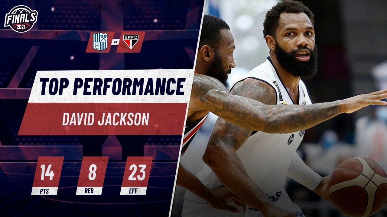 TOP PERFORMANCE - David Jackson (14 points) - Minas Tenis Clube vs. Sao Paulo F.C.