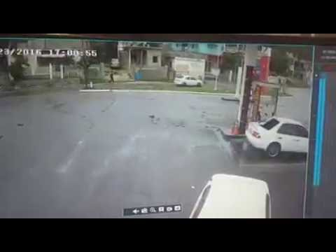 Shooting at gas station in Montego Bay Jamaica