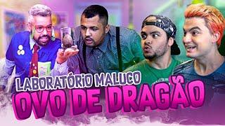 COMO FAZER OVOS DE DRAGÃO - LABORATÓRIO MALUCO
