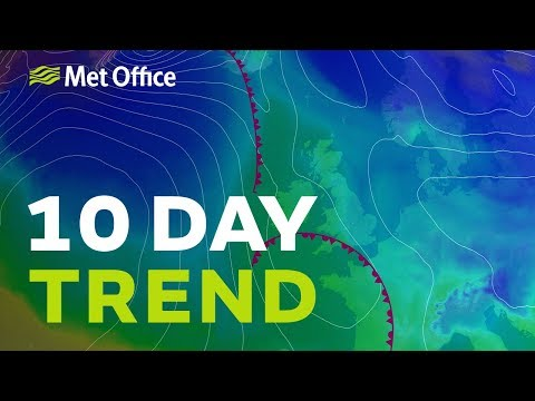 10 Day trend – The cold weather is here but will we see any snow? 16/01/19