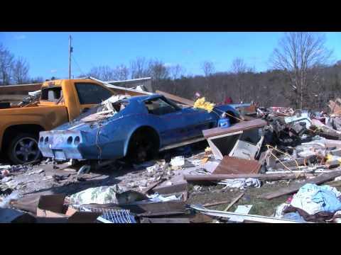 East Bernstadt, Ky., Tornado Aftermath March 3, 2012
