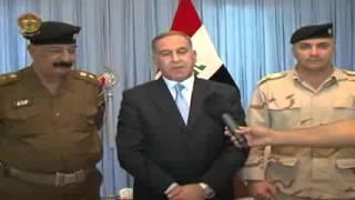 خالد العبيدي يحضر اجتماعاً موسعاً لمناقشة الوضع الأمني في ديالى